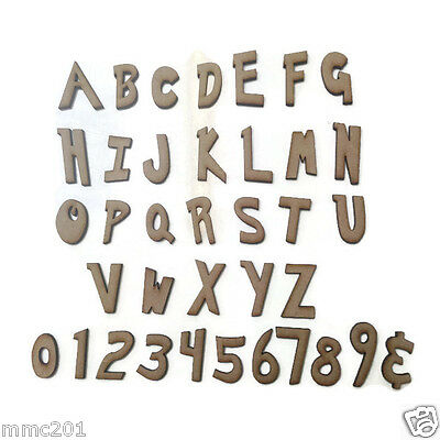 Wooden MDF Cooper Letters Alphabet /& Numbers  Sizes 2-10cm Crafts Weddings CB