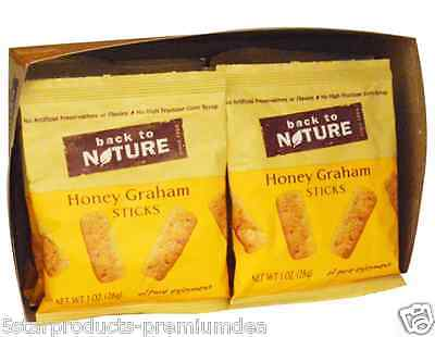 New Back To Nature Honey Graham Sticks Cruchy Food Groceries Snacks Wheat Grains
