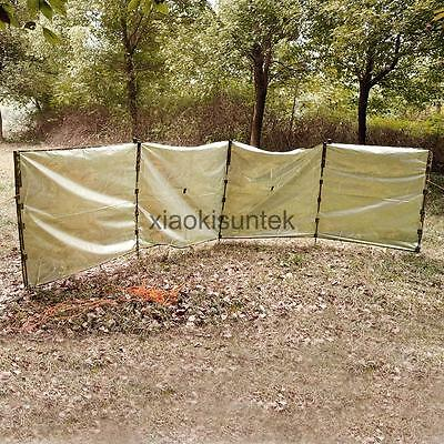 Realtree Camo Outdoor Forest Hunting Ground Blind & Storage Sack Camouflage