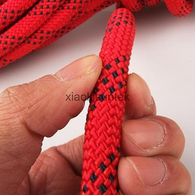 Outdoor Rock Climbing Tree Rigging Rappelling Rescue Rope Cord Equipment 10M