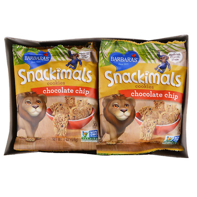 New Barbara's Bakery Snackimals Cookies Chocolate Chip Groceries Food Daily