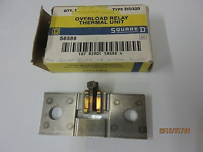 Overload Relay Thermal Unit DD320 (Square D)