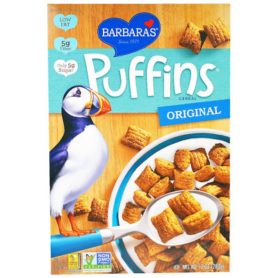 New Barbara's Bakery Puffins Cereal Original Breakfast Food Snack Grocerie Daily