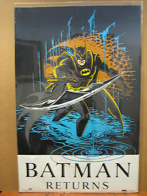 Vintage 1991 DC Comics Cat Woman Poster 11870
