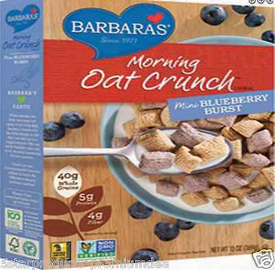 New Barbara's Bakery Morning Crunch Cereal Oat Food Breakfast Groceries Daily