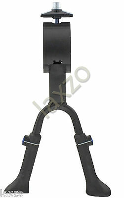 Double Leg Alloy Kick Spring Center Stand Adjustable Bicycle Bike Cycle Prostand