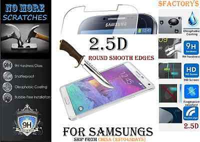 2.5D 9H Tempered Glass For Samsung Galaxy Models screen protector Vitre trempé