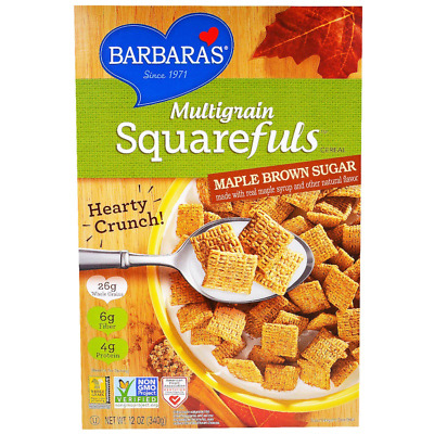 New Barbara's Bakery Multigrain Squarefuls Cereal Food Snack Breakfast Health