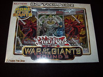 YuGiOh Sealed Play Battle Pack Kit 2 War of the Giants Box Round 2 Big Eye!