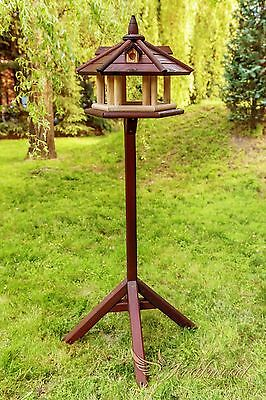Brand NEW Wooden Bird House Table