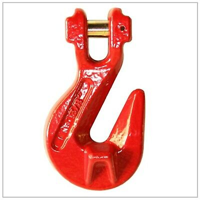 3/8 Grade 80 Alloy Clevis Grab Hook w/ Saddle / Forged / Chain / Rigging / Steel