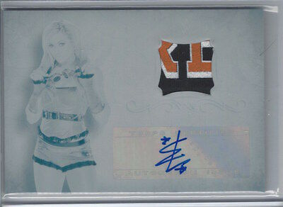 2016 Topps WWE Undisputed PRINTING PLATE 3 Color RELIC BECKY LYNCH AUTOGRAPH 1/1