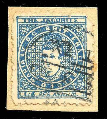 """Great Britain Poster Stamp - Advertising """"The Jacobite"""" c. 1893"""