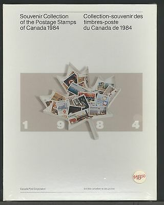 1984 Year Set Of Mnh Stamps (No Book) Free Shipping To Canada