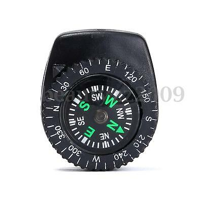 Liquid Pocket Compass Clip-On Mini Cool Outdoor Travel Camping Hiking Navigation