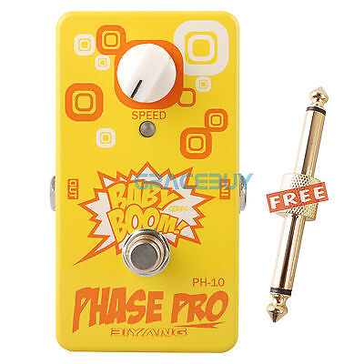 Biyang Baby Boom PH-10 Phase Pro Phaser Guitarra Pedal de Efectos True Bypass