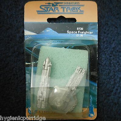 1986 ST20 Star Trek Deep Space Freighter Citadel Starship Enterprise FASA MIB GW