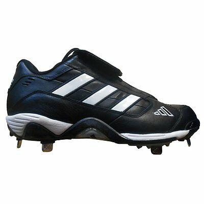 NEW Adidas Excelsior Classic Low Metal Mens Baseball Cleats Black Size 15  467380 8792c8da74ad
