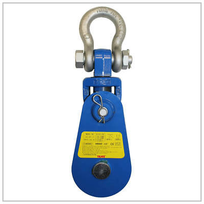"Yoke 2 Ton 3"" Snatch Block w/ Shackle Wire Rope Sheave 8-501-02"