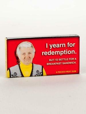 I Yearn For Redemption,But Settle For Sandwich Gum