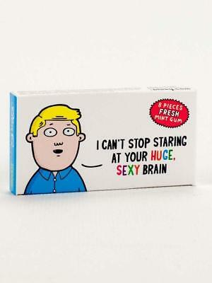 I Can't Stop Staring At Your Huge, Sexy Brain Gum