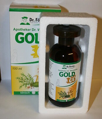 GOLD OIL   Aceite de Oro Dr.Forster 100 ml