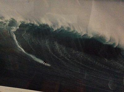 Surfing At Peahi With Laird Hamilton Framed Poster