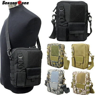 Men's Military Messenger Shoulder Bag Pouch Outdoor Sports Bag Hunting Paintball