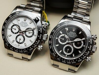 For ROLEX CERAMIC BEZEL BLACK WITH WHITE ENGRAVED 116520 16520 DAYTONA WATCH new