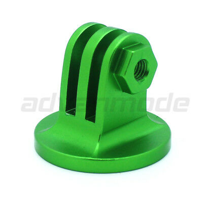 CNC Aluminum Tripod Camera Mount Adapter for All GoPro Hero 3+/3/2/1 – GREEN