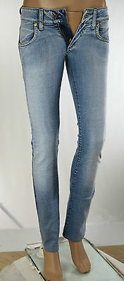 Jeans Donna Pantaloni MET Woman Trousers Made in Italy C681 Tg 25 veste 24/25