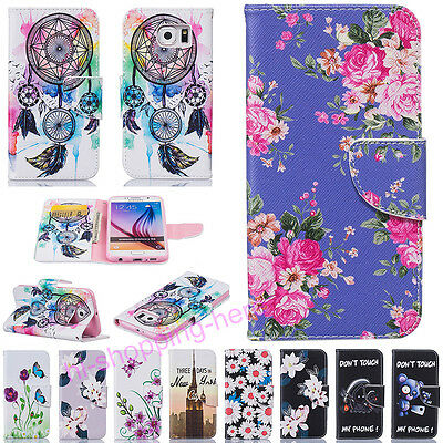 New Flip Leather Wallet Magnetic Silicone Stand Case Cover For Various Phones