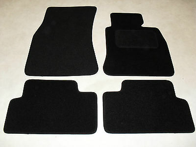 BMW 3 Series E46 Coupe 1998-2005 Fully Tailored Car Mats in Black