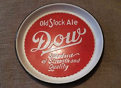 *IN Very Good Condition* Dow Old Stock Ale Porcelain Beer Tray