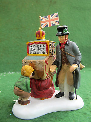 Dept 56 Dickens Village Accessory The Halfpenny Showman 58572 MIB CHRISTMAS