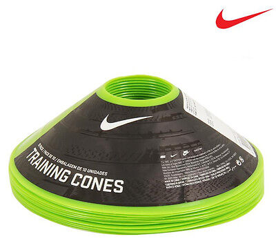 NIKE Training Cones 10 Pack Agility Speed Cone Football Soccer AC1931301