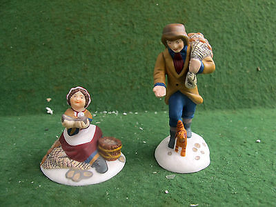 Dept 56 Dickens Village A Treasure From The Sea (Set of 2) #58461