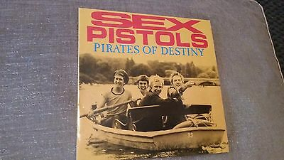 SEX PISTOLS - Pirates Of Destiny - 1989, Pink Marble Vinyl! - PUNK *NM