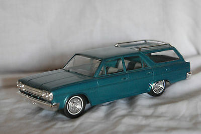 1966 Rambler Classic Station Wagon, promo, 1/25 scale, by Johan in the USA