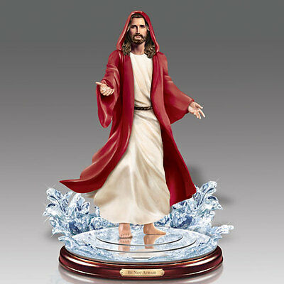 Be Not Afraid Jesus Walking on Water Figurine  Bradford Exchange