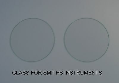 Glass For Smiths and Jaeger Instruments Flat 4 inch (94.5mm x 1.8mm)