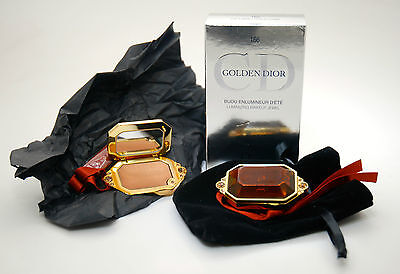 Christian Dior Golden Dior Luminizin Make Up Jewel 166 Gold Lame