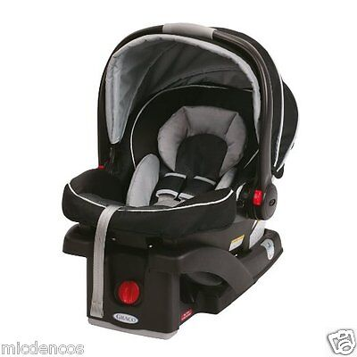 Graco Click Connect 35 Infant Snug Ride Rear Facing Car Seat For Newborns-35lbs