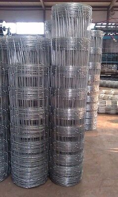 SALES~Rural Fence/Galvanised Hinge Joint  Fence/Hot-Dipped 1.83mx50m 17 wire 2mm