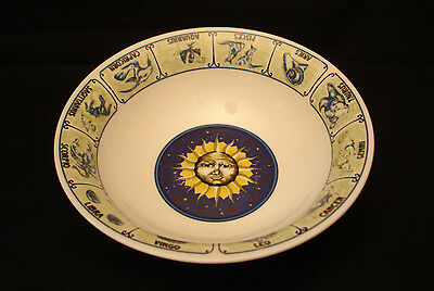 """Horoscope by Tabletops Unlimited SOUP & CEREAL BOWL 6 3/8"""""""