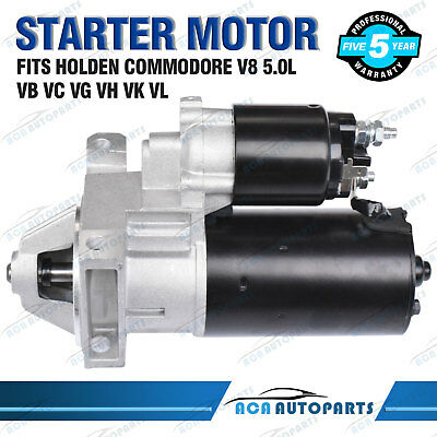 Starter Motor for Holden Commodore 304 VB VC VG VH VK VL VR VS VT VN VP V8 5.0L