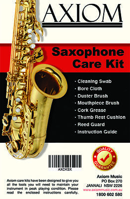 Axiom Saxophone Maintenance Kit - Sax Cleaning Kit