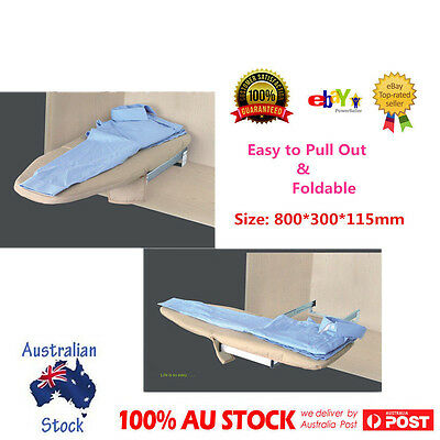Quality Pull Out Foldable Ironing Board Slide Out Swivel Sytle Wardrobe Drawer