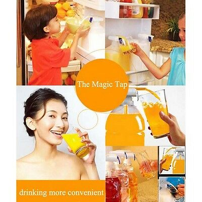 Magic Dispenser Electric Automatic Beverage Water & Drink Tap Spill Proof