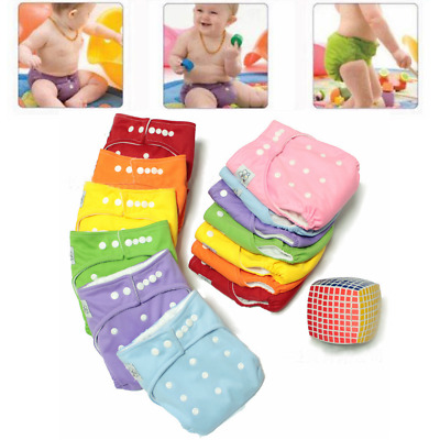 Adjustable Baby Kids Infant Reusable Washable Leakproof Cloth Cover Nappy Diaper